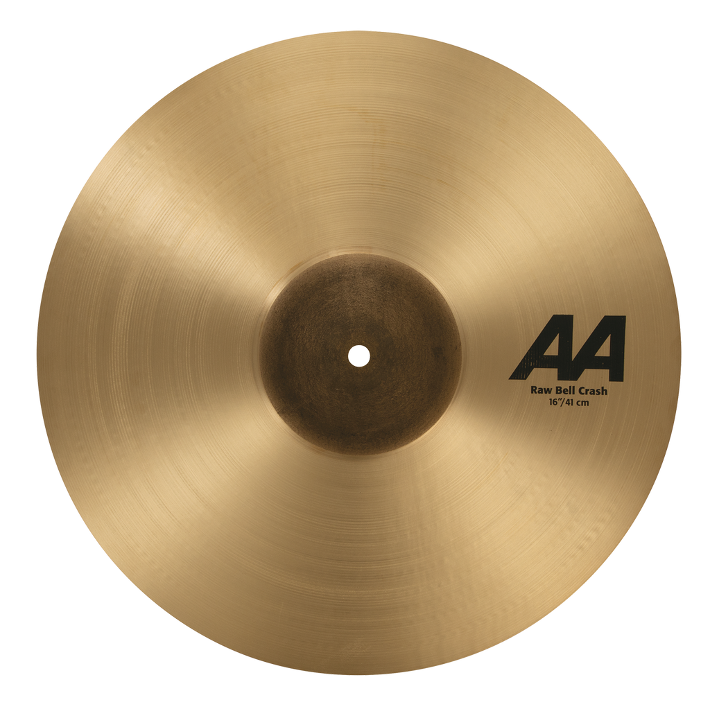 "Sabian 16"" AA Raw Bell Crash Cymbal - 2160772"