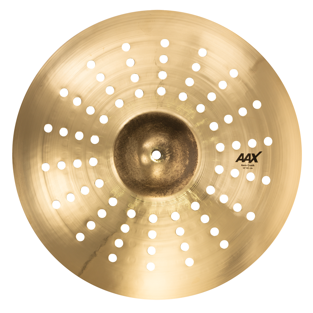"Sabian 18"" AAX Aero Crash Cymbal Brilliant Finish - 218XACB"