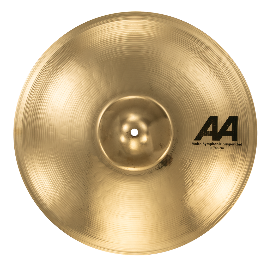 "Sabian 18"" AA Molto Symphonic Suspended Cymbal Brilliant Finish - 21889B"