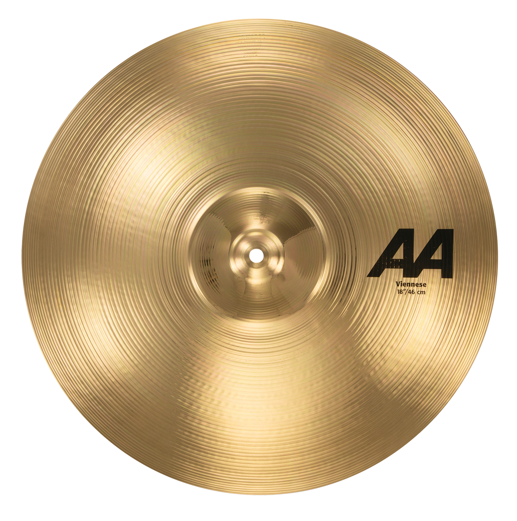 "Sabian 18"" AA Viennese Cymbal Brilliant Finish - 21820B"