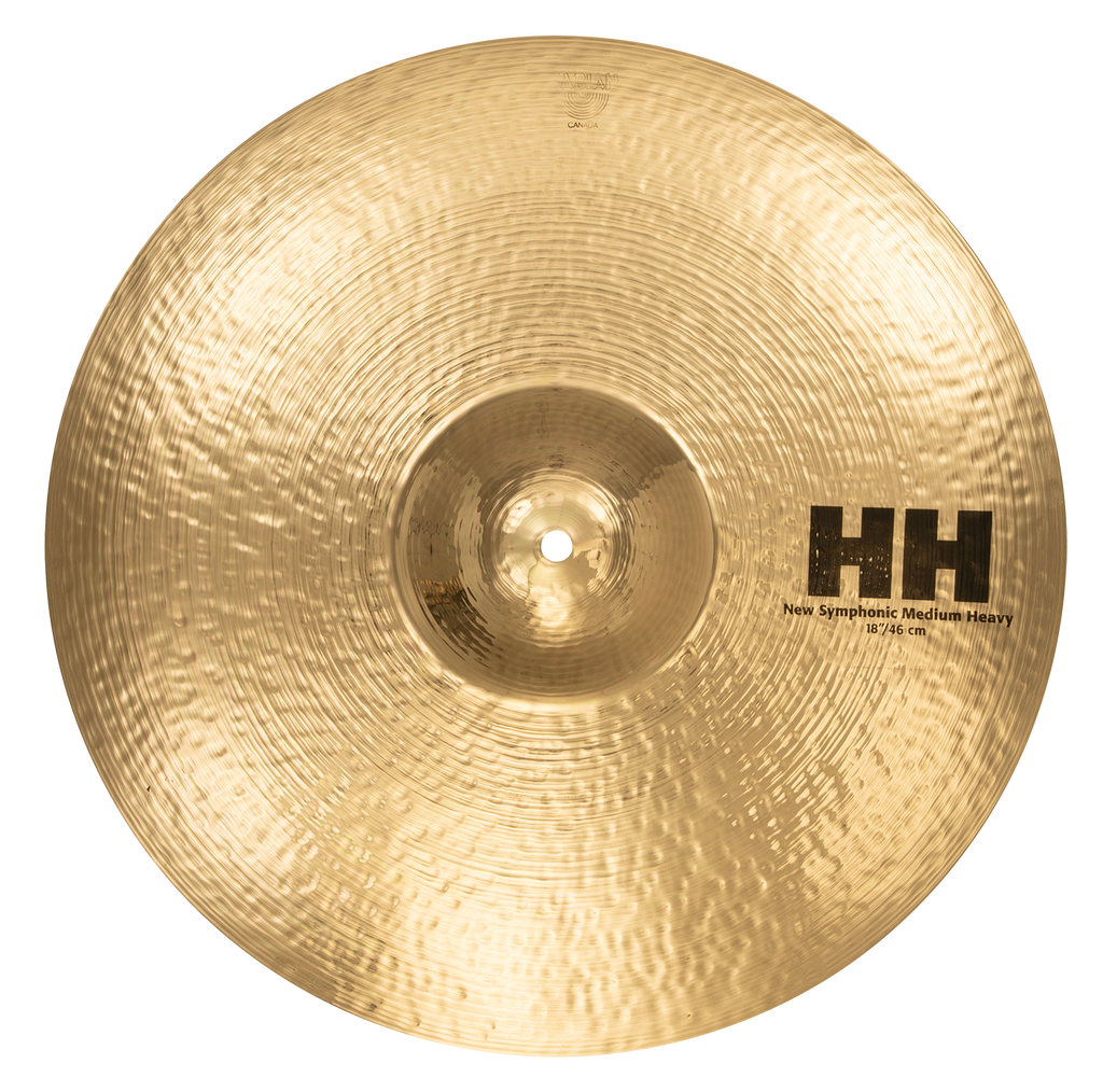 "Sabian 18"" HH New Symphonic Medium Heavy Cymbal Brilliant Finish - 11855B"
