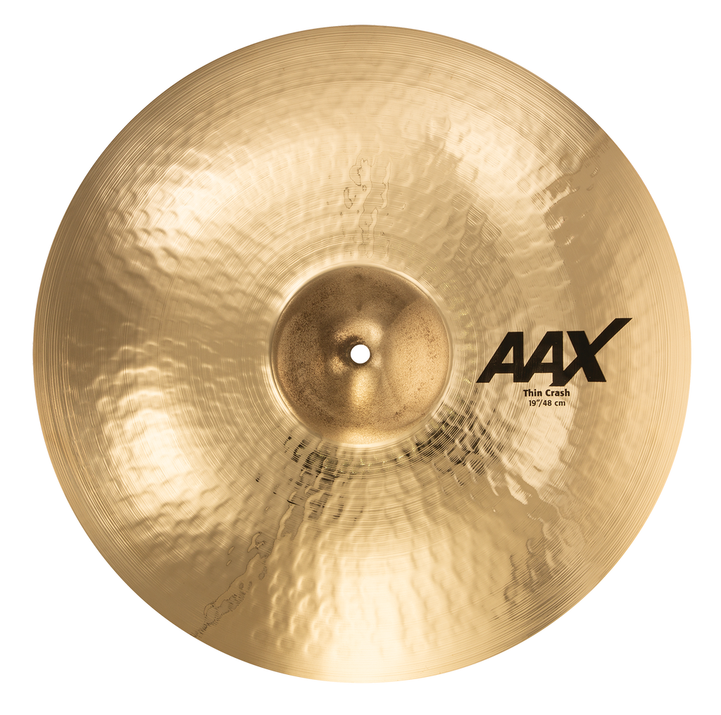 "Sabian 19"" AAX Thin Crash Cymbal Brilliant Finish - 21906XCB"