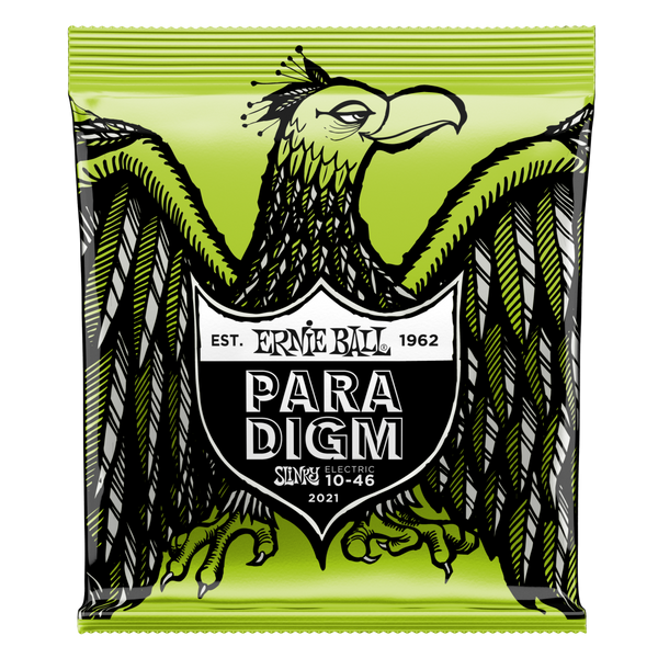 Ernie Ball 2021EB Paradigm Regular Slinky Electric Guitar Strings 010-046