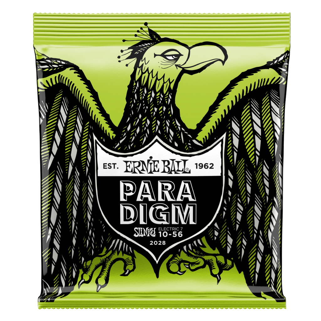 Ernie Ball 2028EB Paradigm 7 String Regular Slinky Electric Strings - Guitar 10-56