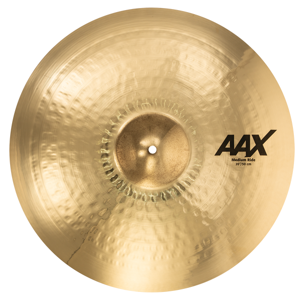 "Sabian 22012XCB 20"" AAX Medium Ride Cymbal Brilliant Finish"