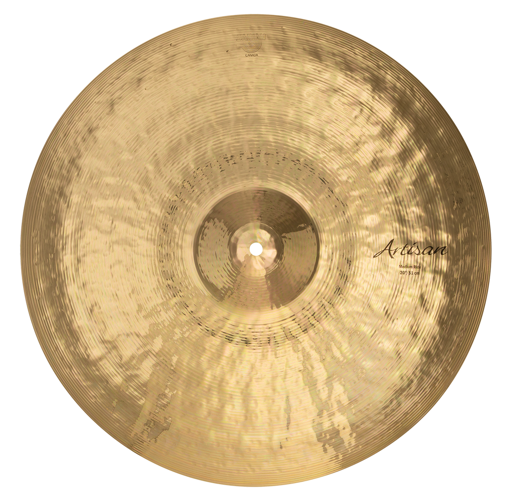"Sabian 20"" Artisan Medium Ride Cymbal Brilliant Finish - A2012B"