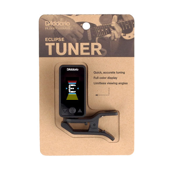 Planet Waves PWCT17BK Eclipse Chromatic Guitar Tuner in Black