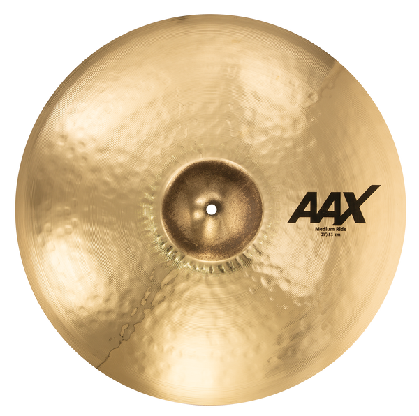 "Sabian 21"" AAX Medium Ride Cymbal Brilliant Finish - 22112XCB"