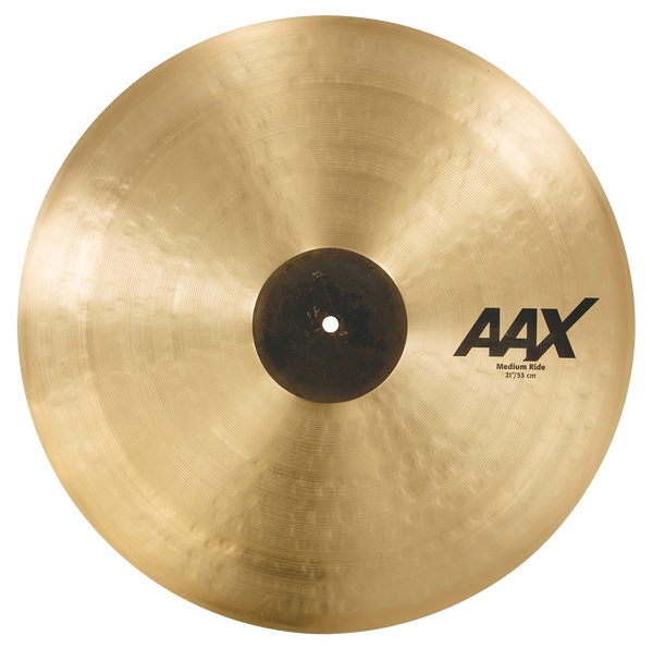 "Sabian 21"" AAX Medium Ride Cymbal - 22112XC"