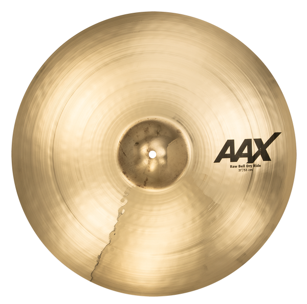 "Sabian 21"" AAX Raw Bell Dry Ride Cymbal Brilliant Finish - 22172XB"