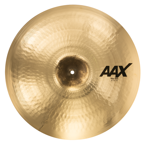 "Sabian 21"" AAX Thin Ride Cymbal Brilliant Finish - 22110XCB"