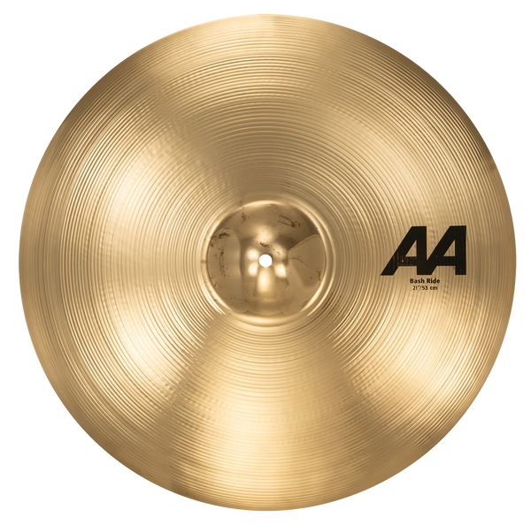 "Sabian 221BCB 21"" AA Bash Ride Cymbal Brilliant Finish"
