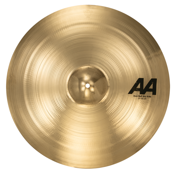 "Sabian 22172B 21"" AA Raw Bell Dry Ride Cymbal Brilliant Finish"