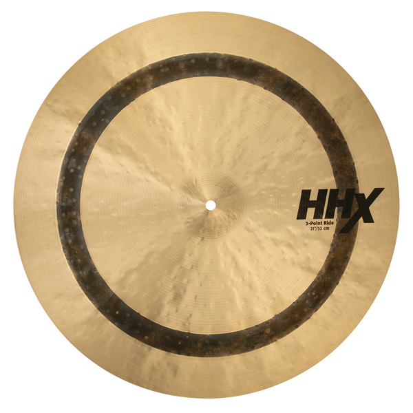 "Sabian 21"" HHX 3-Point Ride Cymbal - 12118XNJD"