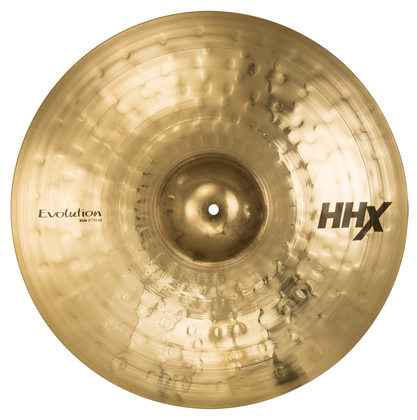 "Sabian 21"" HHX Evolution Ride Cymbal Brilliant Finish - 12112XEB"