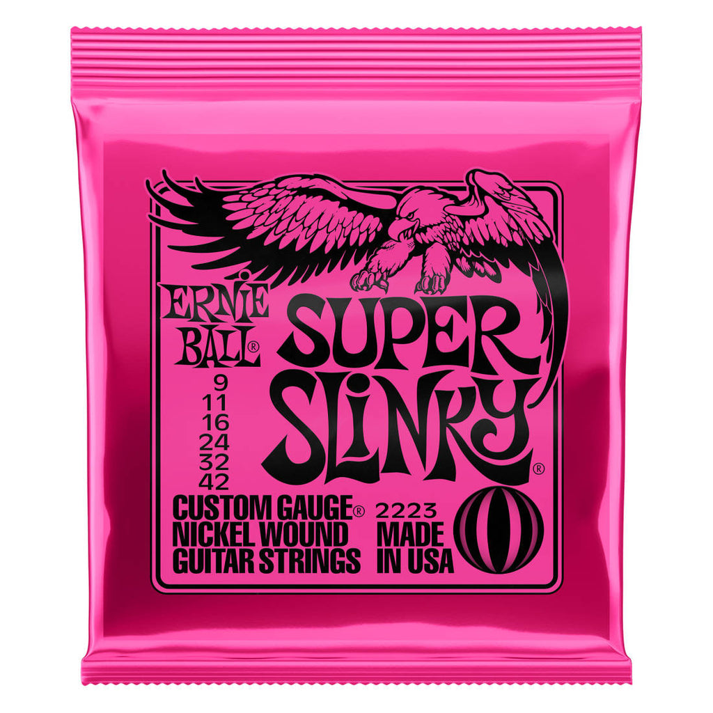 Ernie Ball 2223 Super Slinky Electric Strings - Guitar 9-42