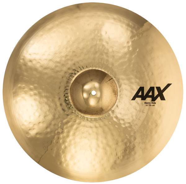 "Sabian 22"" AAX Heavy Ride Cymbal Brilliant Finish - 22214XCB"