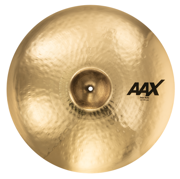 "Sabian 22"" AAX Thin Ride Cymbal Brilliant Finish - 22210XCB"