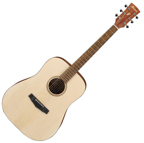 Ibanez Dreadnought Acoustic Guitar in Open Pore Natural - PF10OPN