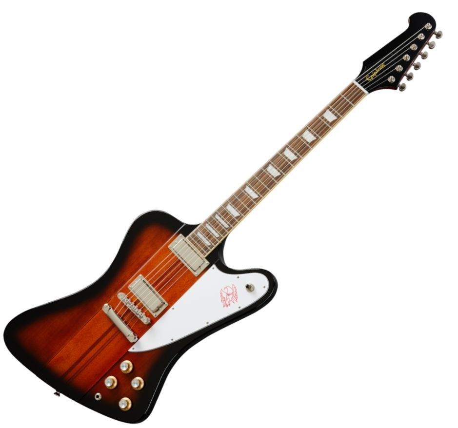 Epiphone Firebird Electric Guitar in Vintage Sunburst - EIFBVSNH