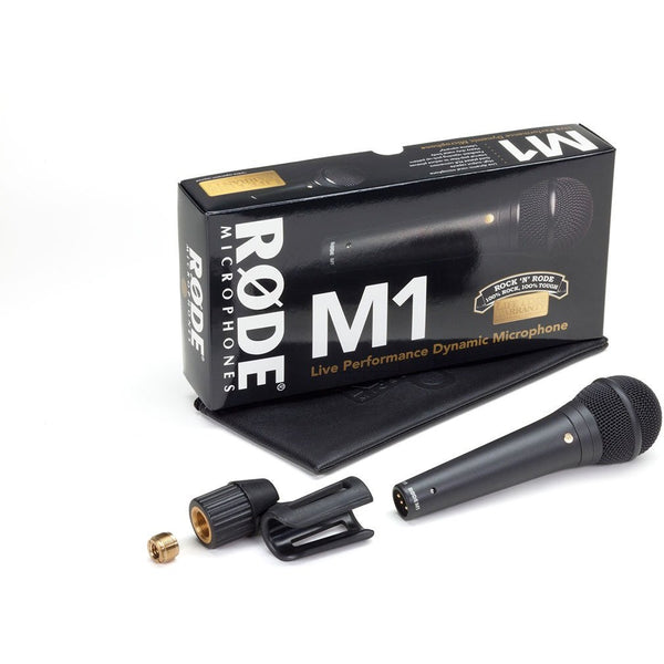 Rode M1 Live Performance Dynamic Vocal Microphone