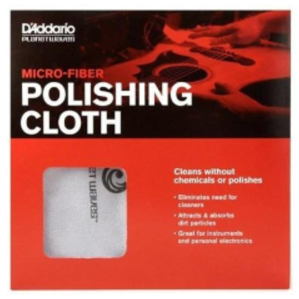 Planet Waves PWMPC D'Addario Micro Fiber Guitar Polishing Cloth