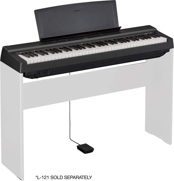Yamaha 73 Note Weighted GHS Action and New CF Sound Engine Digital Piano - P121B