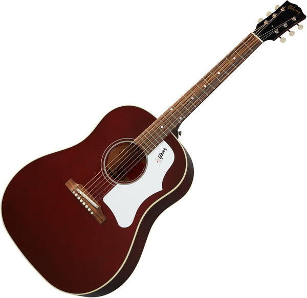 Gibson 60s J-45 Original Acoustic Guitar in Wine Red with Case - ACO456WRNH