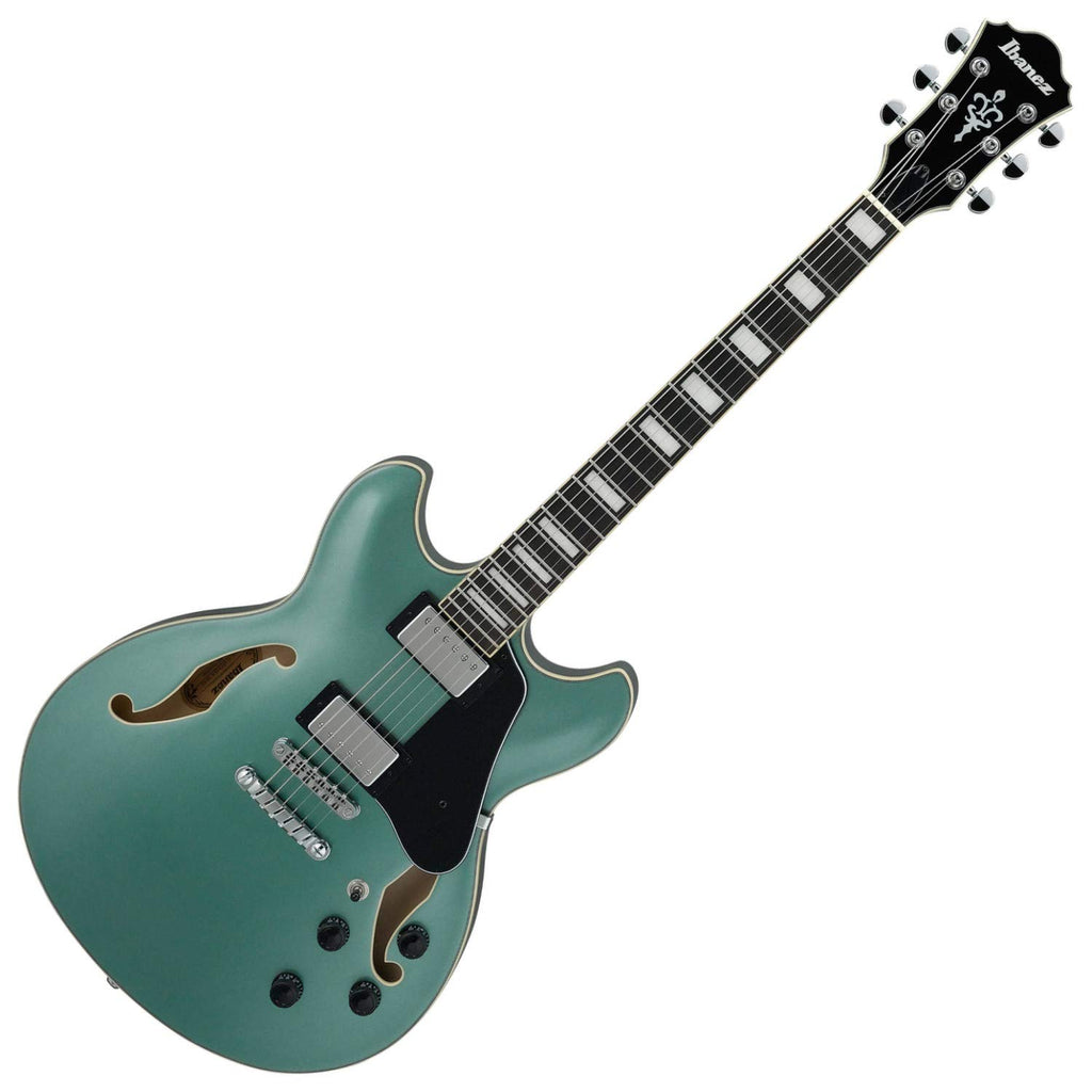 Ibanez AS73OLM Artcore Semi Hollow Body Electric Guitar in Olive Metallic