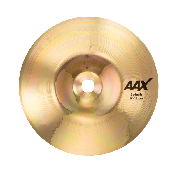 "Sabian 6"" AAX Splash Cymbal Brilliant Finish - 20605XB"