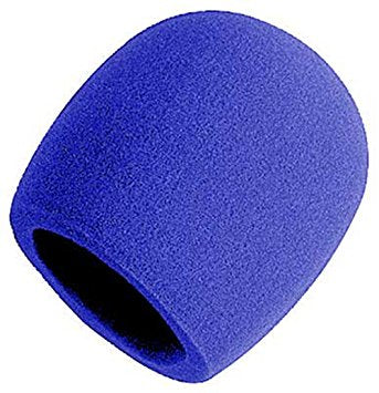 Yorkville IWS1BL Microphone Windsock in Blue