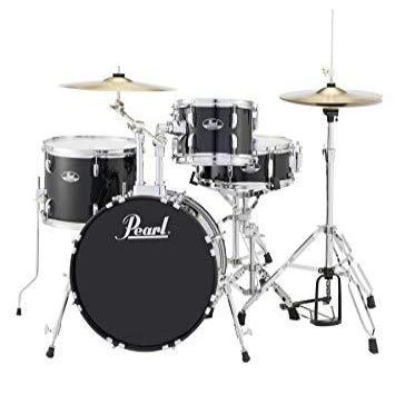 Pearl Road Show 4 Piece Drum Kit in Jet Black - RS584CC31