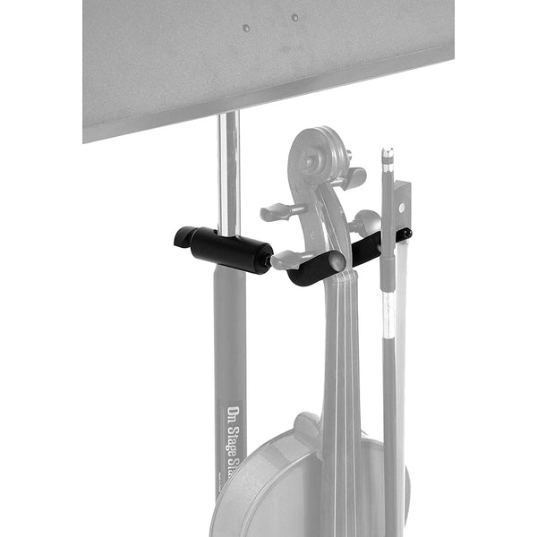 On Stage VS7200 U-Mount Microphone Stand Violin Hanger