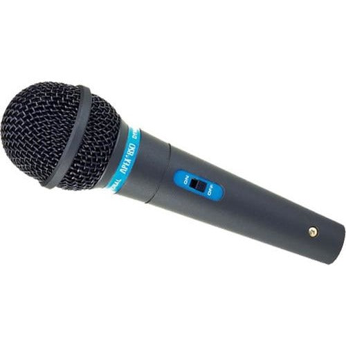 Apex APEX850 Dynamic Cardioid Low Z Microphone with Mic Cable & Clip