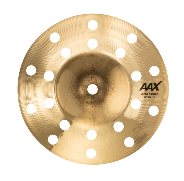 "Sabian 8"" AAX Aero Splash Cymbal Brilliant Finish - 208XACB"
