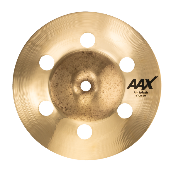 "Sabian 8"" AAX Air Splash Cymbal Brilliant Finish - 20805XAB"