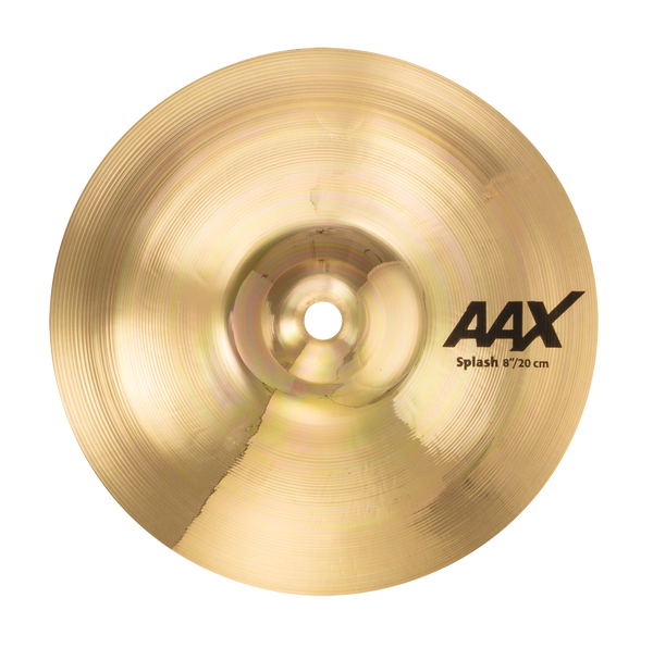 "Sabian 8"" AAX Splash Cymbal Brilliant Finish - 20805XB"