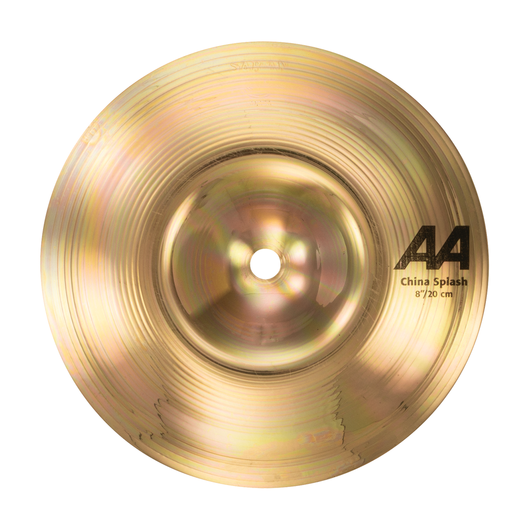 "Sabian 8"" AA China Splash Cymbal Brilliant Finish - 20816B"