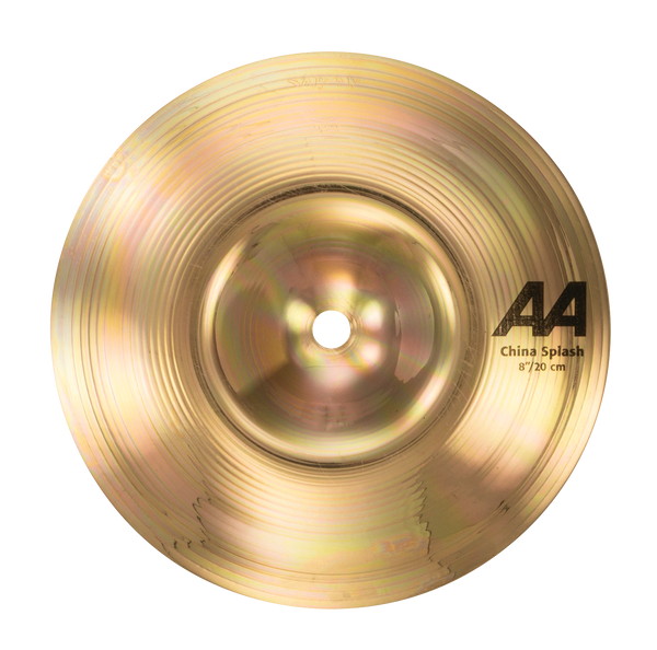 "Sabian 20816B 8"" AA China Splash Cymbal Brilliant Finish"