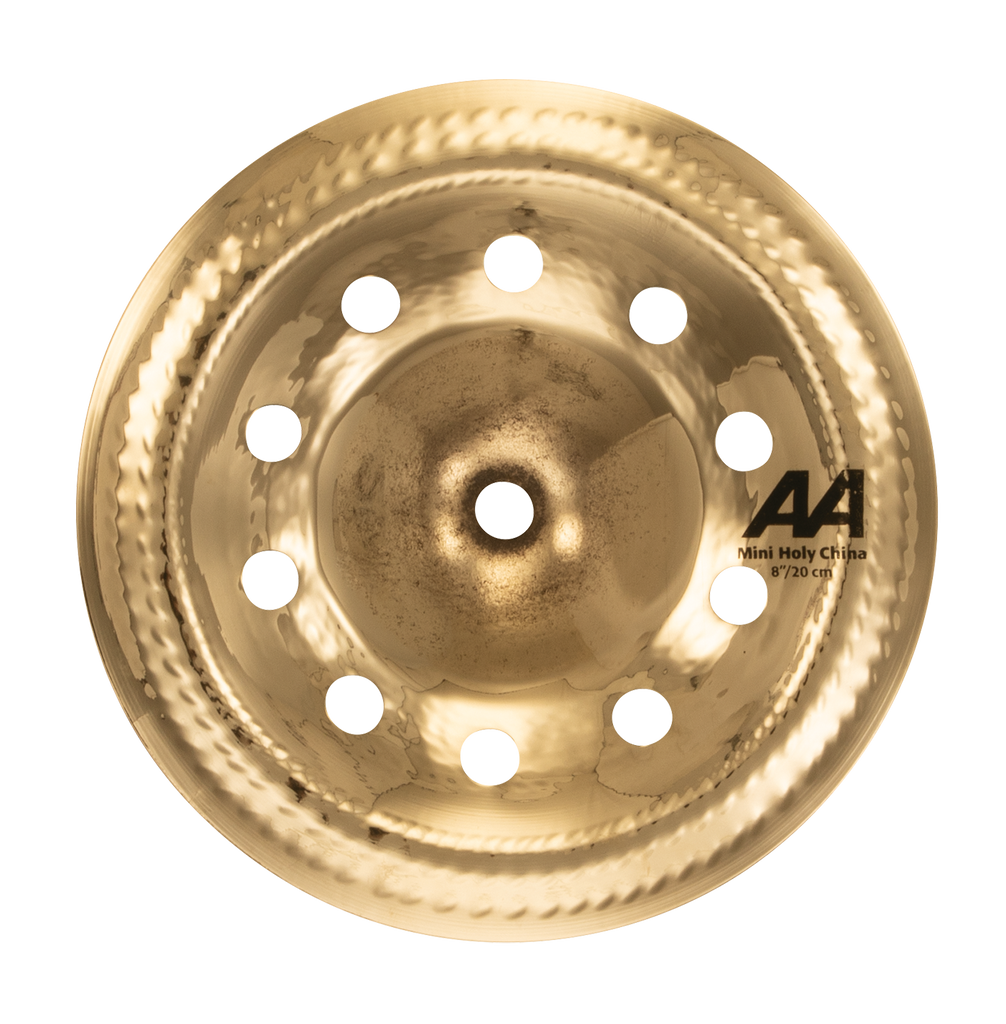 "Sabian 8"" AA Mini Holy China Brilliant    Cymbal - 20816CSB"