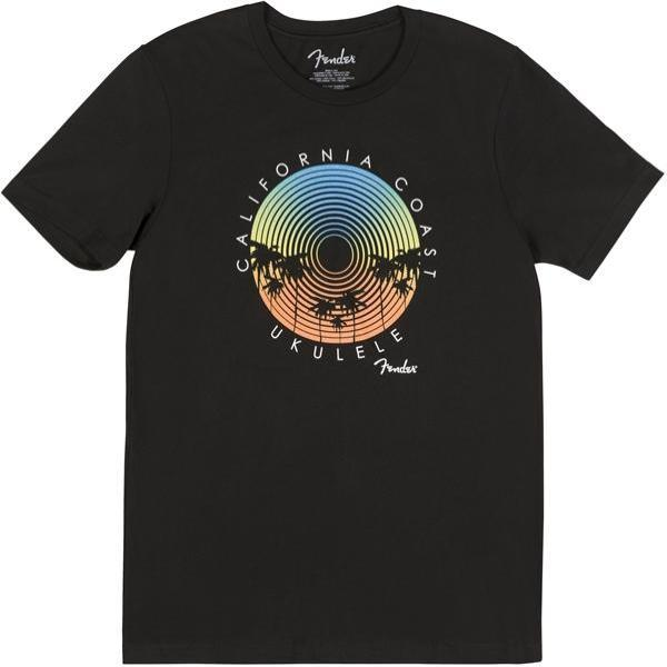 Fender 9112004506 Cali Coastal Record Player T-Shirt Large - Clothing