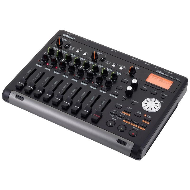 Tascam DP03SD Portastudio 8 Track Multitrack Digital Recorder