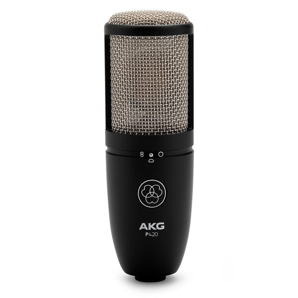 AKG Project Studio Multi-Pattern Large Diaphragm Condenser Microphone - P420MIC