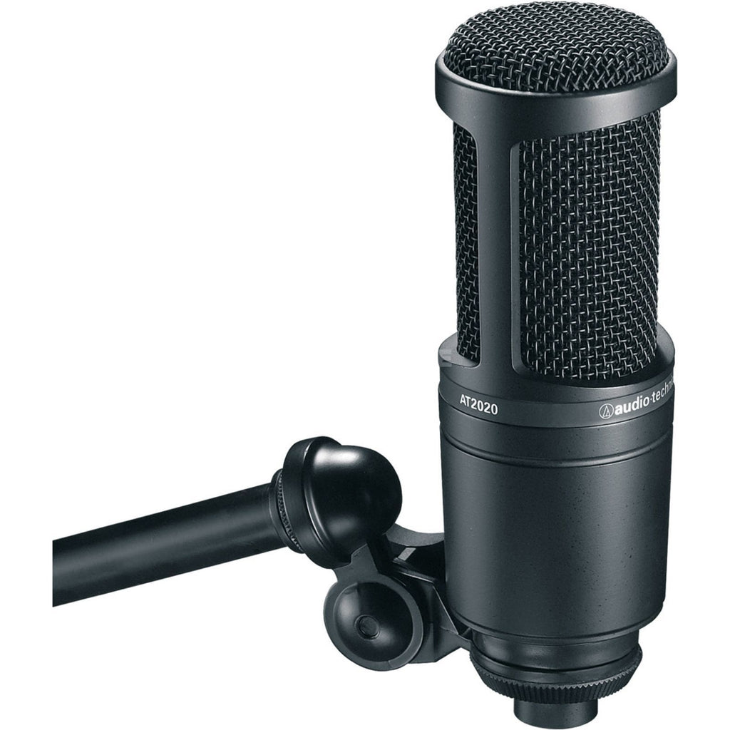 Audio-Technica AT2020 Large Diaphram Studio Condenser Microphone