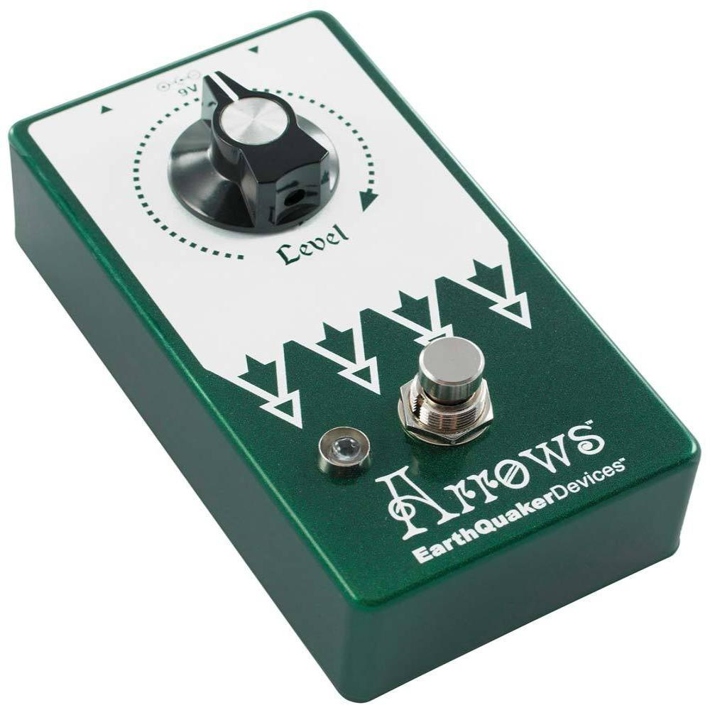 Earthquaker ARROWS2 Preamp Booster Effects Pedal V2