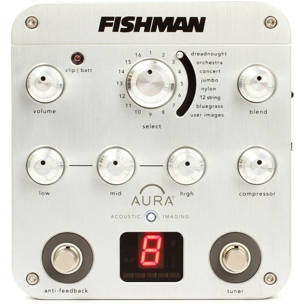 Fishman PROAURSPC Aura Spectrum DI Imaging Effects Pedal