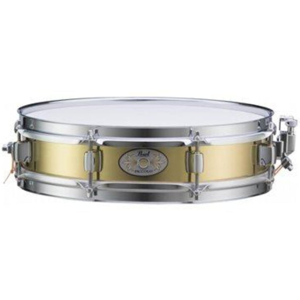Pearl B1330 Brass PSFX Piccolo Snare Drum