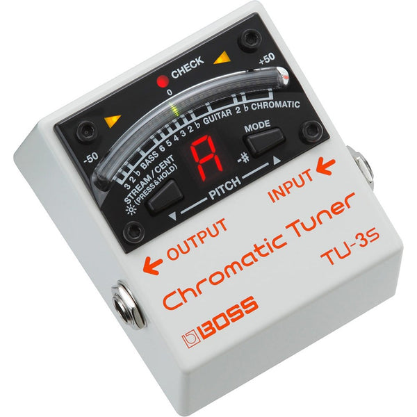 Boss TU3S Compact Chromatic Tuner Effects Pedal