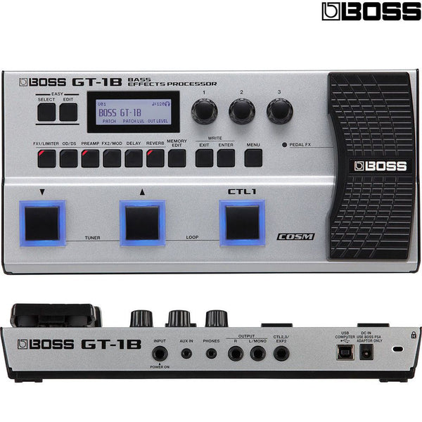 Boss GT1B Bass Multi Effects Processor Effects Pedal