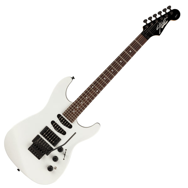 Fender Limited MIJ HM Stratocaster Electric Guitar Rosewood Fingerboard in Bright White w/Bag - 0251700310